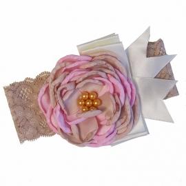 Haarband Gold Rose vintage