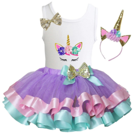 Unicorn set ogen