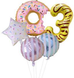 Sweet Donut 3 jaar (5-delig)