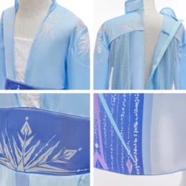 Luxe prinsessenjurk Frozen met accessoires