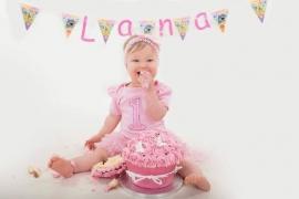 Verjaardag babyjurk 1 jaar