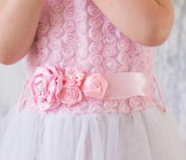 Luxe riem handgemaakt roze