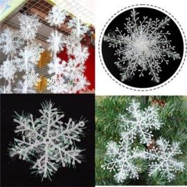 Sneeuwvlokken versiering (27 stuks)
