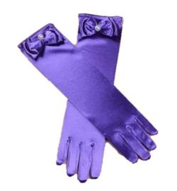 Gala handschoenen lang ULTRA VIOLET