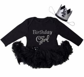 Verjaardag babyjurk Birthday Girl