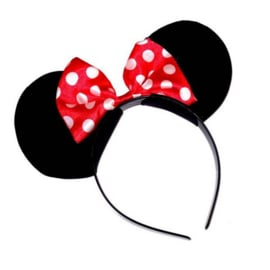 Minnie Mouse diadeem ROOD