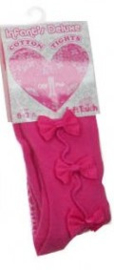 Maillot strikjes pink (0-3 mnd)