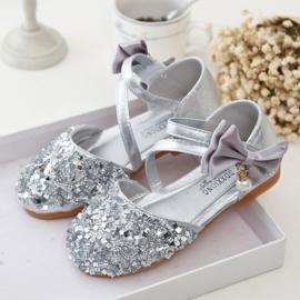 Prinsessen schoentjes zilver (mt 25)
