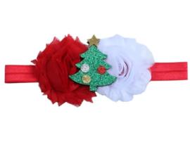 Haarband kerstboom