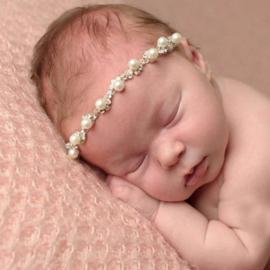 Luxe Crystal parels haarband