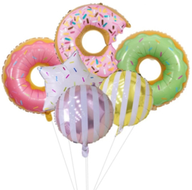 Sweet donuts mix, (6-delig)