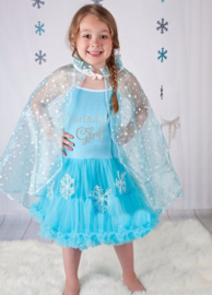 Frozen verjaardag jurk Birthday Girl
