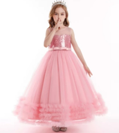 Elegante jurk roze