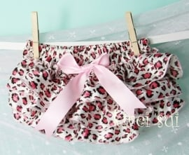 Luierbroekje luipaard roze