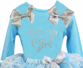 Frozen verjaardag T-shirt Birthday Girl