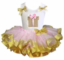 Tutu Satijn set cadeau roze