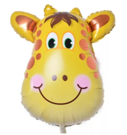 Folieballon Giraf, 2 stuks