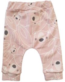 Baby baggy broekje dieren roze