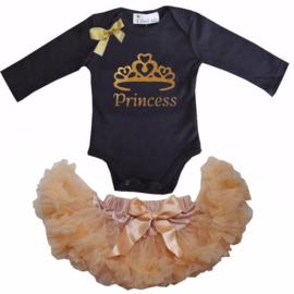 Princess longsleeve zwart