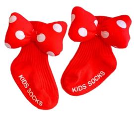 Minnie Mouse sokken (0-2 jr)