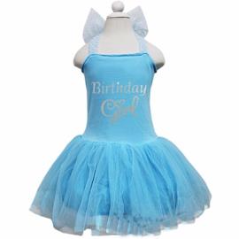 Frozen jurk Birthday Girl