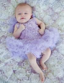 Jurk Blossom Lavendel