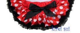 Baby Pettiskirt Minnie Mouse rood/zwart