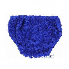 Luierbroekje roosjes kobaltblauw