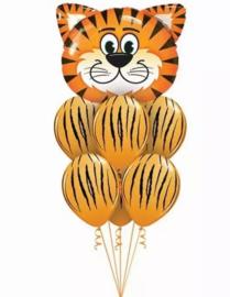 Ballonnenset Tijger, 7-delig