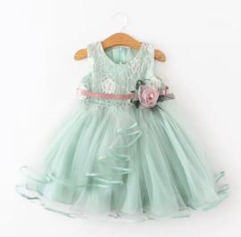 Romantische jurk MINT