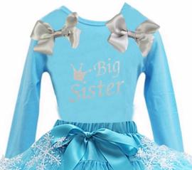 Frozen verjaardag T-shirt Big Sister