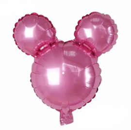 Mickey Mouse folie ballon roze