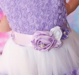 Luxe riem handgemaakt lavendel