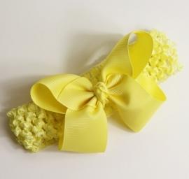 Haarband Gele strik