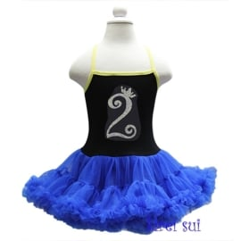 Frozen verjaardag jurk 1 t/m 6 jaar