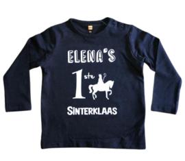 1ste Sinterklaas + naam