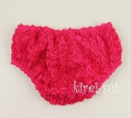 Luierbroekje romantische roosjes pink