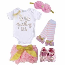 Brand Sparkling New set roze (5-delig)