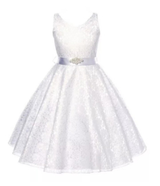 Elegante jurk wit
