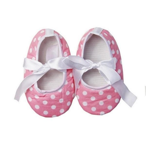 Minnie Mouse stippen schoen roze