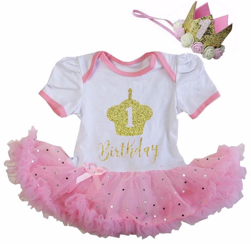 Verjaardag babyjurk 1 jaar Birthday