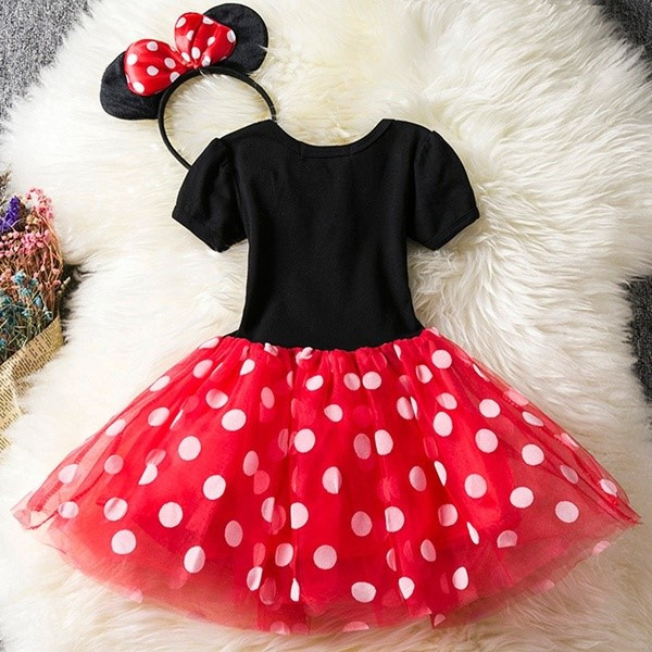 Minnie Mouse jurk (2-delig)