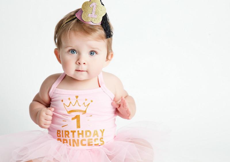 Verjaardag babyjurk Birthday Princess