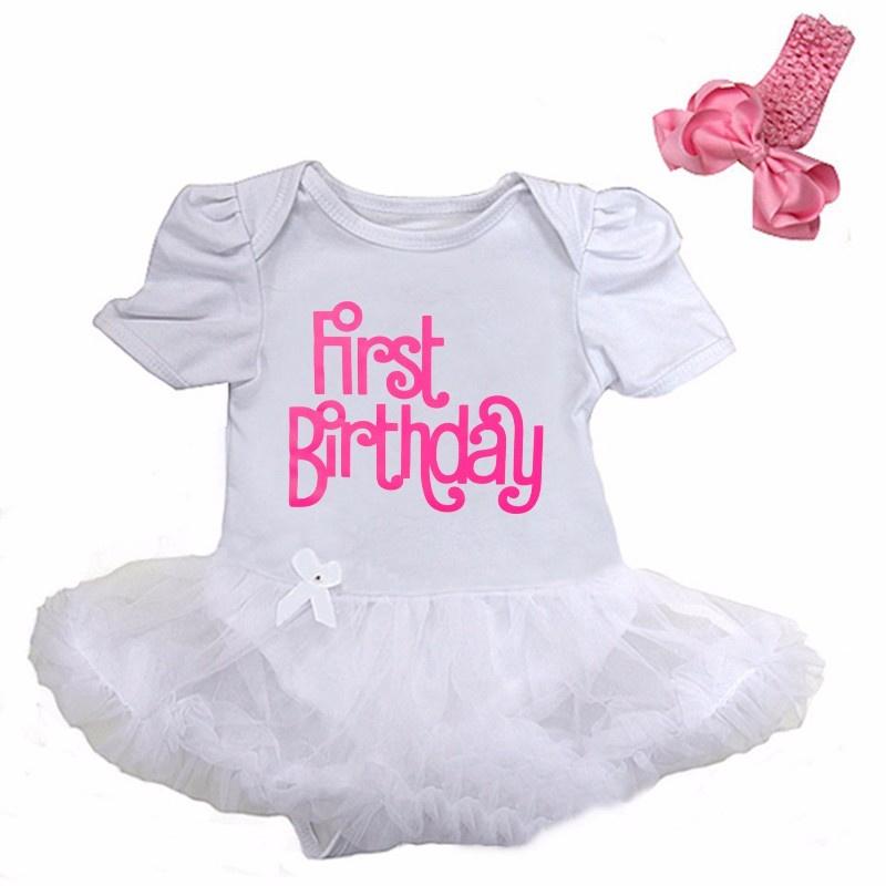 Verjaardag babyjurk First Birthday