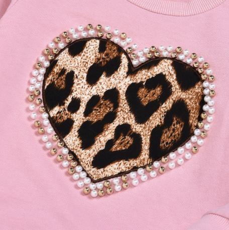 Comfypak roze met luipaardprint