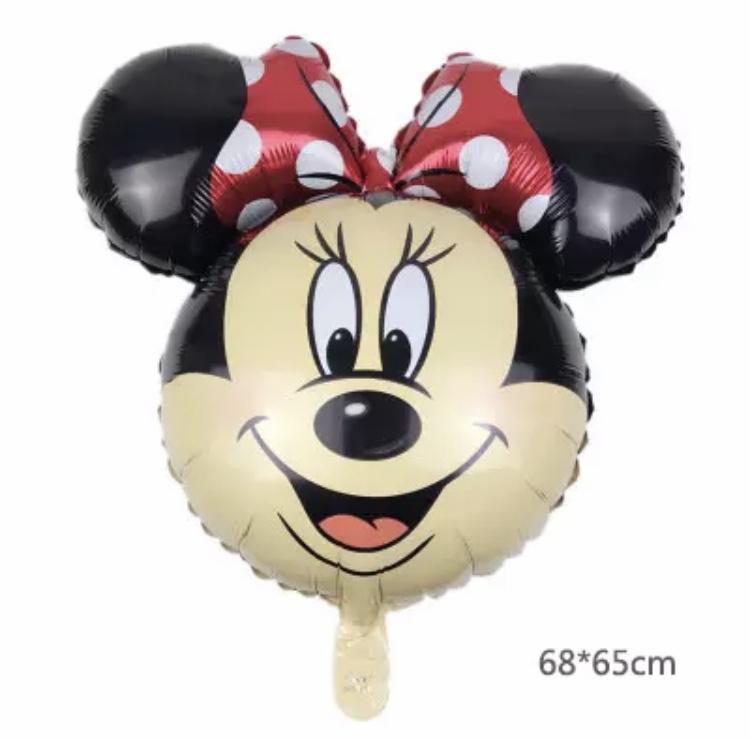 Minnie Mouse hoofd folie ballon rood XXL