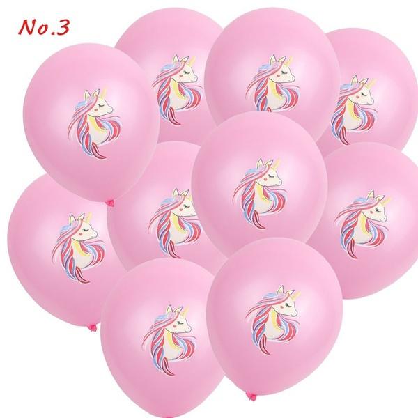 Unicorn Ballonnen nr. 3- ROZE - 5 stuks