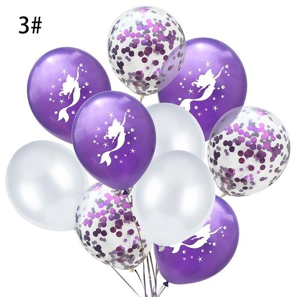 Zeemeermin Ballonnen nr. 3 - 10 stuks