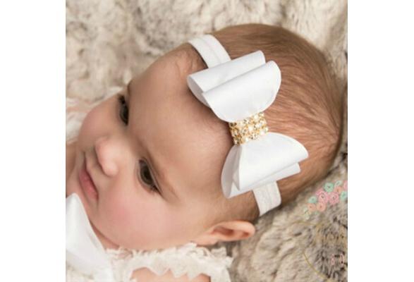 Haarband strik strass paars