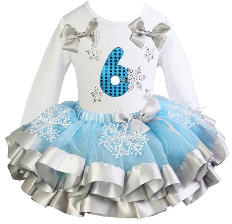 Frozen verjaardagset 6 jaar (maat 122/128)
